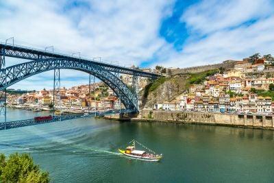 D. Luís bridge view