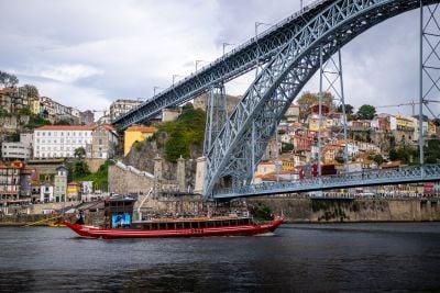 Dom Luís bridge - 6 bridges cruise