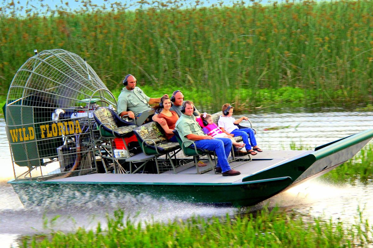 Wild About Florida Airboats From Orlando