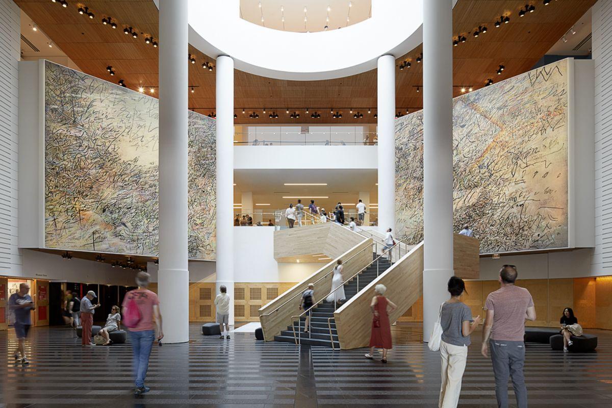 Modern Art Museum Golden Gate Park
