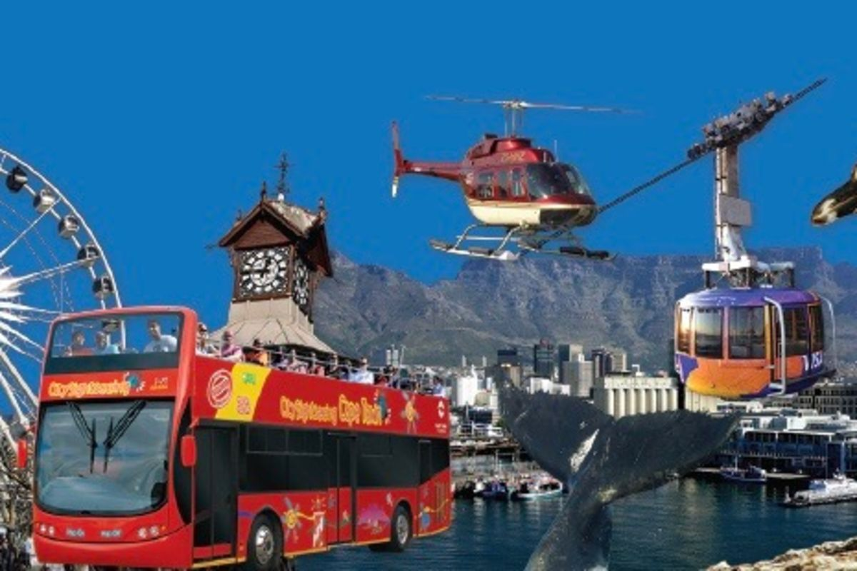 Classic 1 Day Open Top Red Bus Ticket | City Sightseeing Cape Town