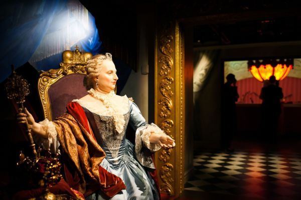 Historical wax works
