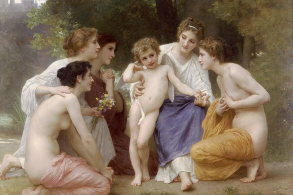 Admiration by William Adolphe Bouguerenau