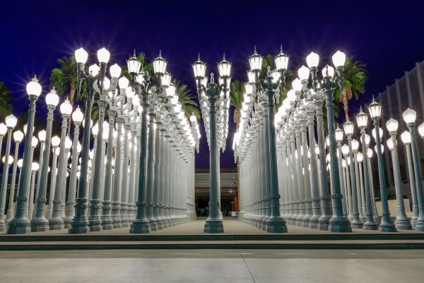 Urban Lights LACMA & La Brea Tar Pits