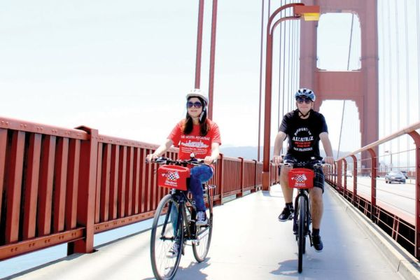 Bike the Golden Gate Bridge