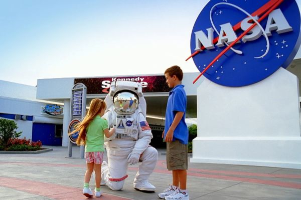 A Full day of excitement awaits you at the Kennedy Space Center Visitor Complex