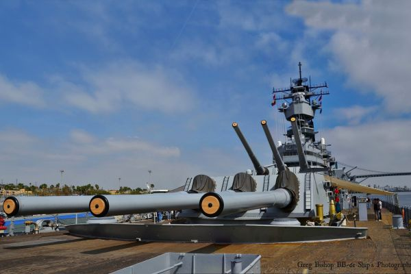 USS Iowa Battle Ship