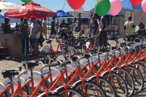 Up Cycles in Sea Point