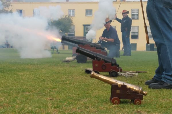 Canons at the Castle