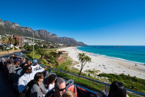 The Camps Bay coast