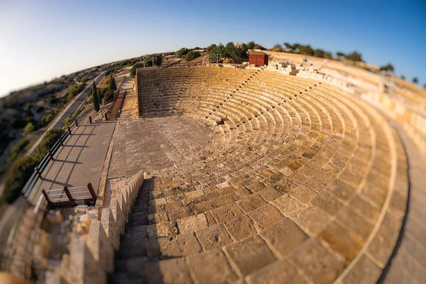 Ancient Kourion Amphitheater
