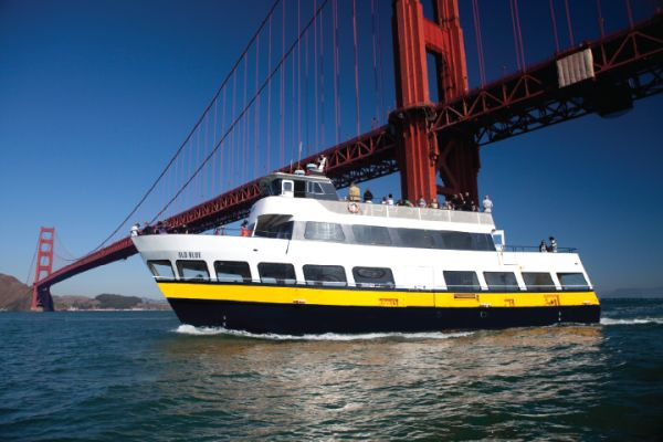 Sail underneath the Golden Gate Bridge