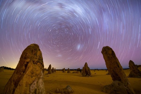 Night Sky at the Pinnacles