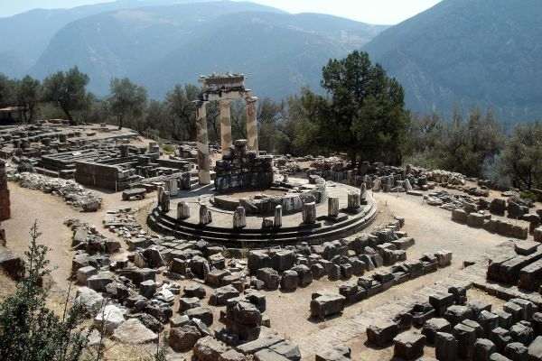 Apollo Temple and Oracle of Delphi
