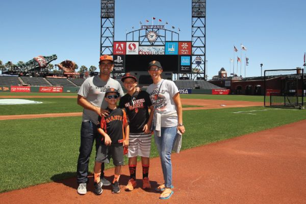 Oracle Park Tour