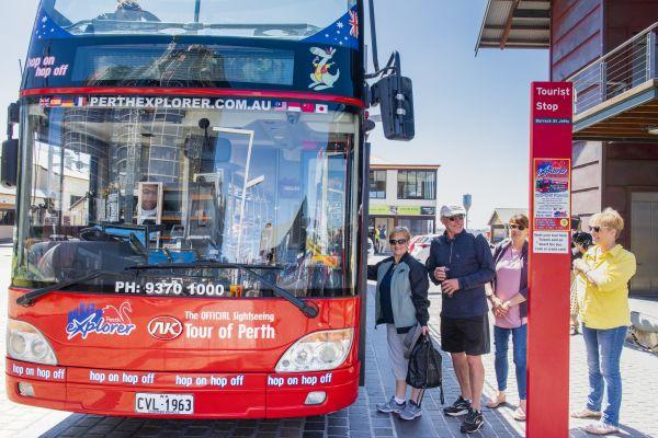 48 hr pass on Perth Explorer