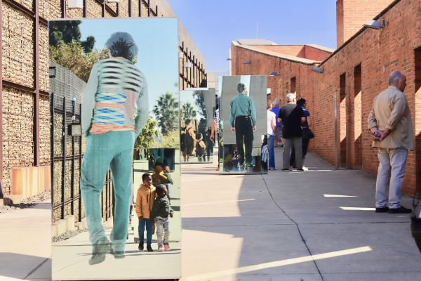 At the Apartheid Museum