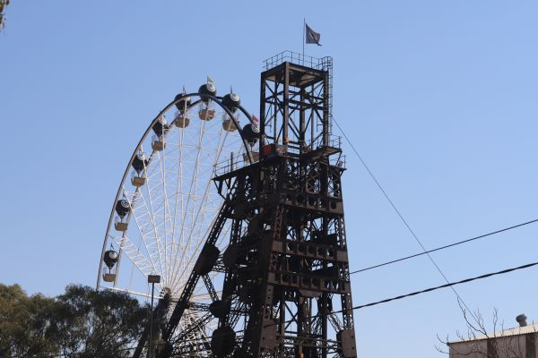 Mine Tour @ Gold Reef City