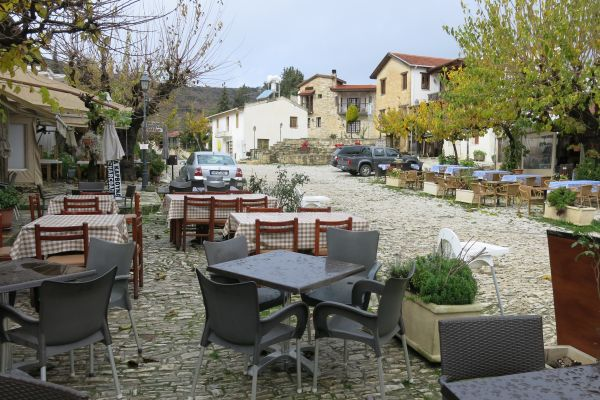 Omodos Village Square