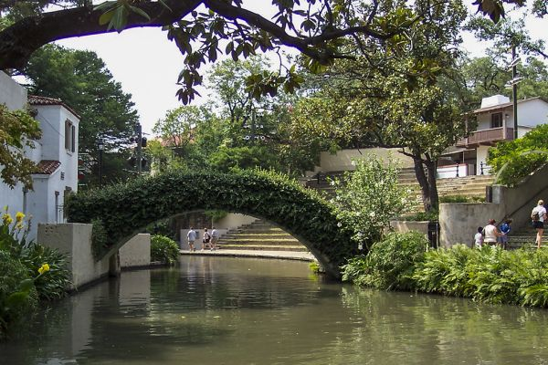 The San Antonio River