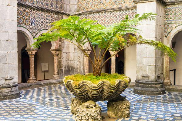 Manuelino cloister - Pena Palace