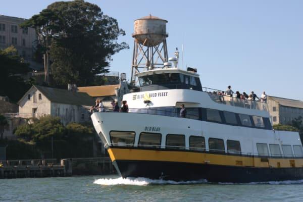Sail around Alcatraz Island