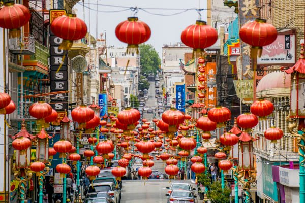The largest Chinatown outside of the Asian continent.