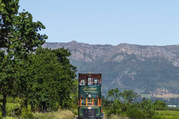 Enjoy a day riding the Wine Tram
