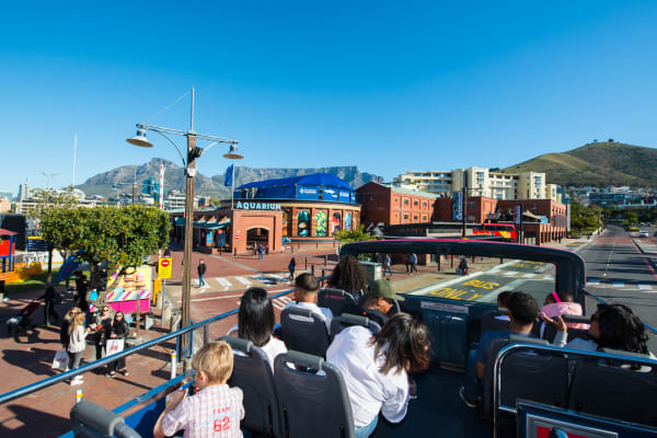 The Main bus stop at the V&A Waterfront