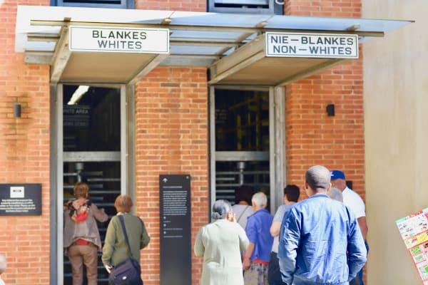 Apartheid Museum Entrance