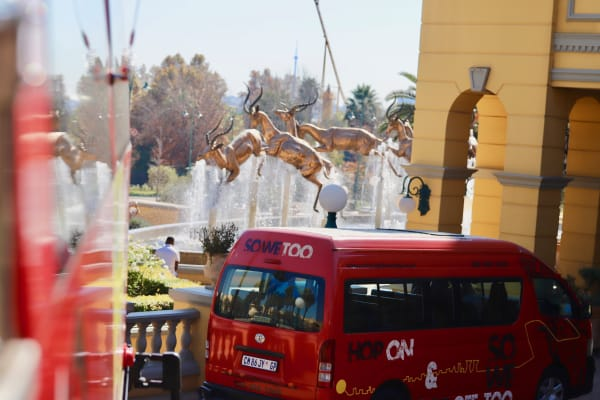 Change from the Red Bus to Soweto Tour