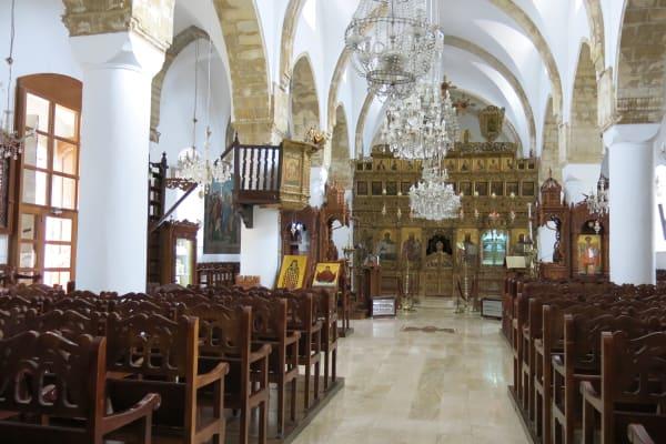 Church of the Holly Cross - Omodos Village
