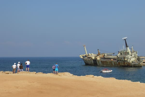 Ship wreck EDRO III
