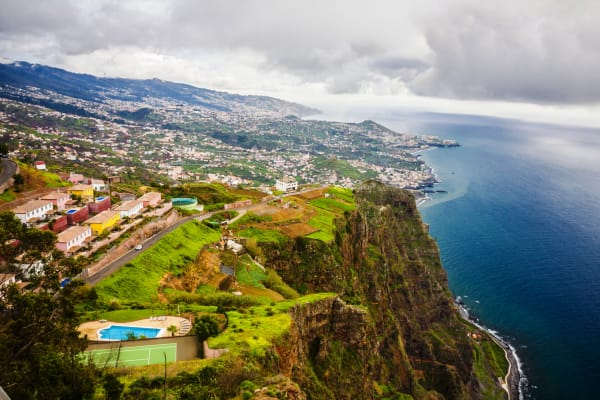 View from Cabo Girão Viewpoint