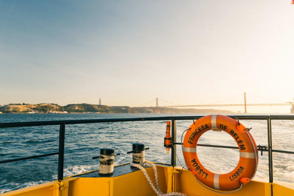 River Tagus view - Yellow Boat Tour