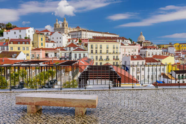 Portas do Sol Viewpoint - Lisbon