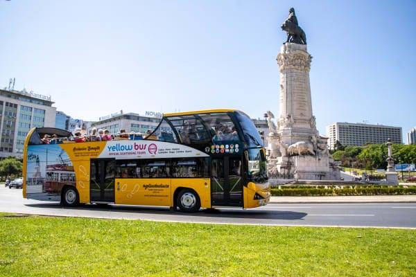 Marquês de Pombal Square - Belem Lisbon Bus Tour