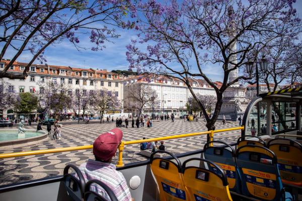 Rossio Square - Modern Lisbon Bus Tour