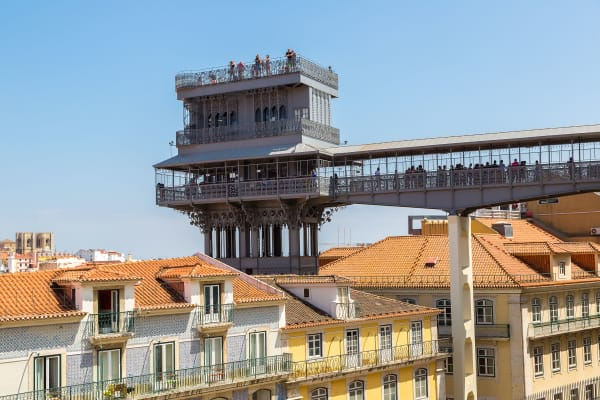 Santa Justa Lift and Viewpoint