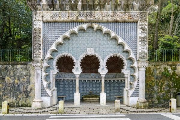 Moorish fountain - Sintra Village