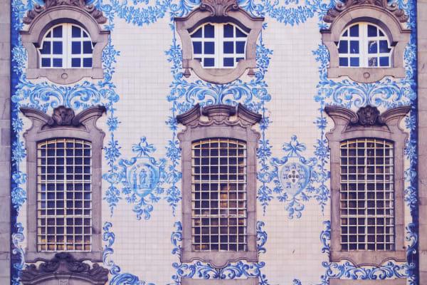Carmo Church tiles detail