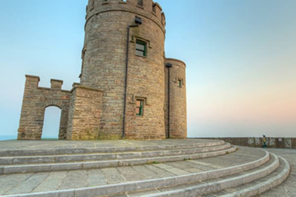 Visit O'Briens Tower at the Cliffs of Moher