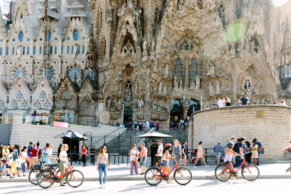 The Sagrada Familia