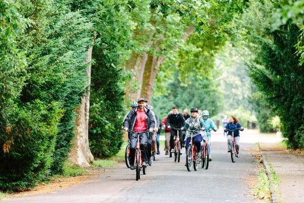 Riding through the Potsdam Parks
