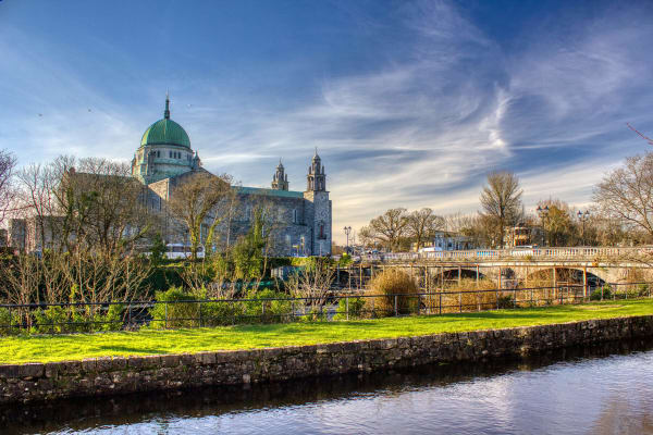 Stretch your legs and take a stroll along along the fastest flowing river in Europe - A slice of raw nature in the middle of town