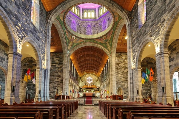 The largest building in Galway is also one of Europe's youngest cathedrals