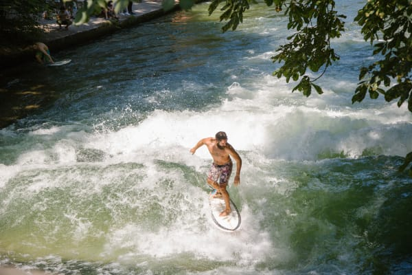 The Munich surfers