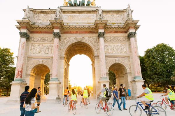 The Arc de Triomphe de Carrousel