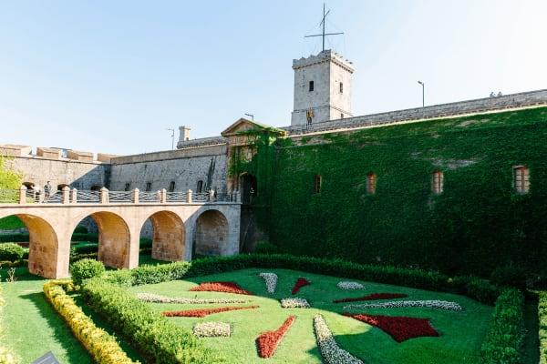 Montjuic Castle Gardens