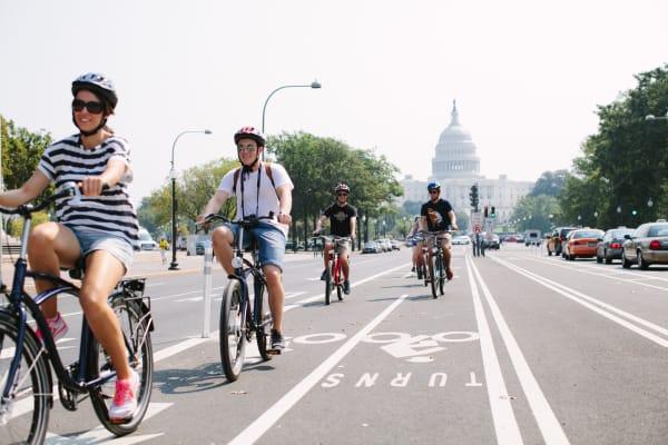 Bike Lanes near the Capitol